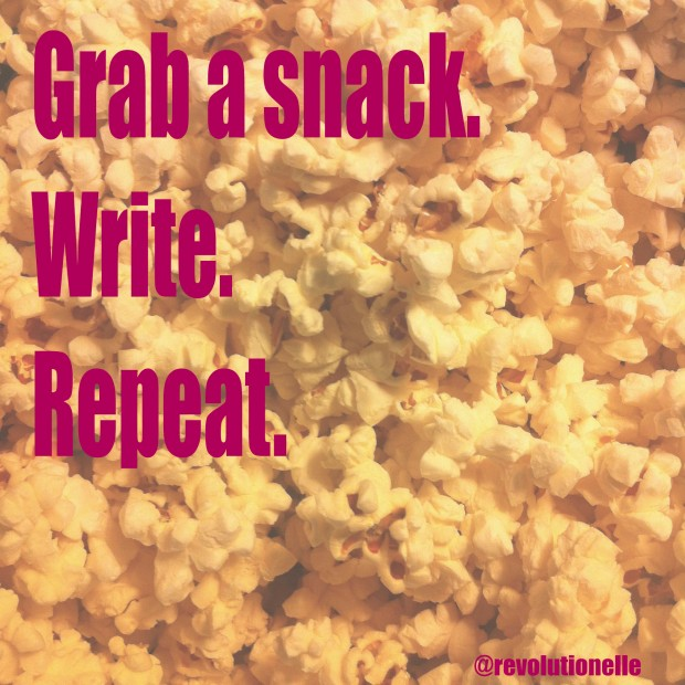 writing prompt snack