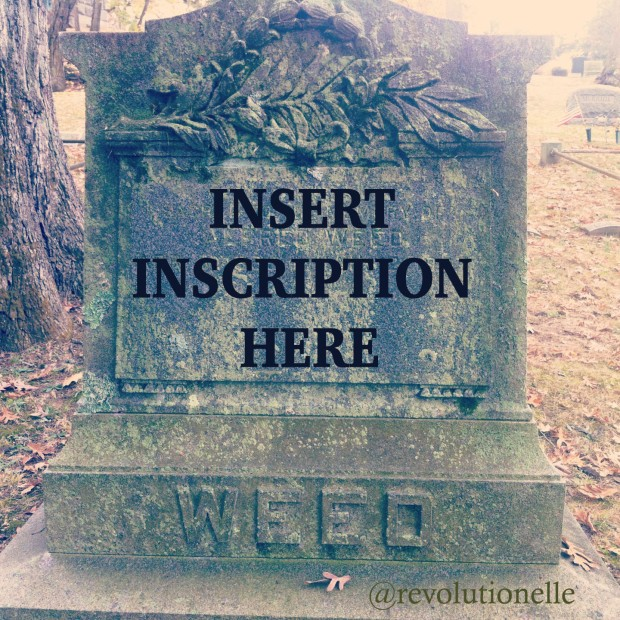 writing prompt tombstone